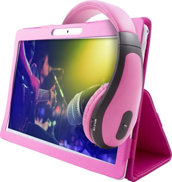 Point of view tablet for children