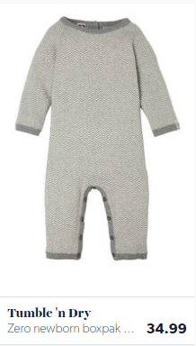 Baby solid romper