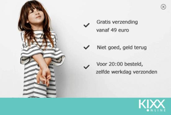 Kixx online kinderkleding outlet