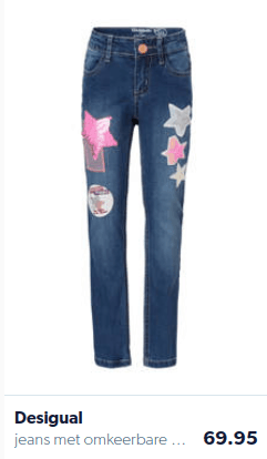 Sturdy pants for girls