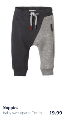 baby pants solid gray