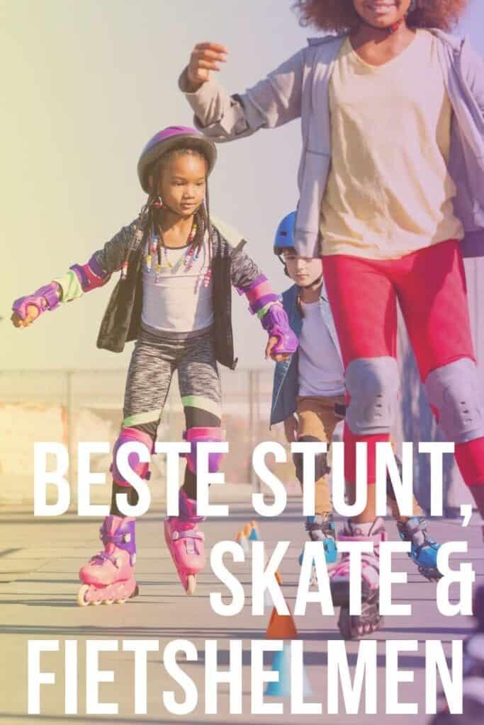 Beste stunt skate en fietshelmen beoordeeld
