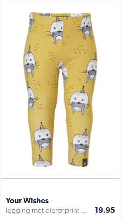Leggings with a walrus on it