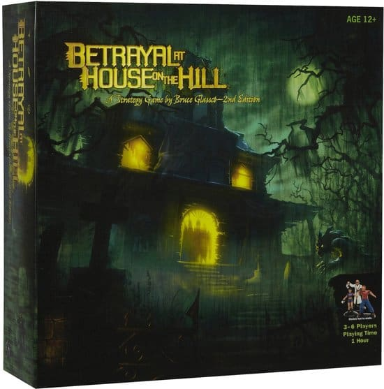 Betrayal at house on the hill gezelschapsspel