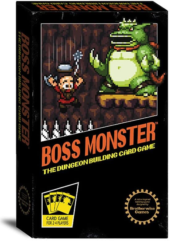 Boss Monster retro bordspel