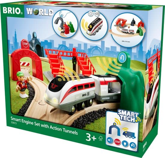 Brio smart tech treinset van hout