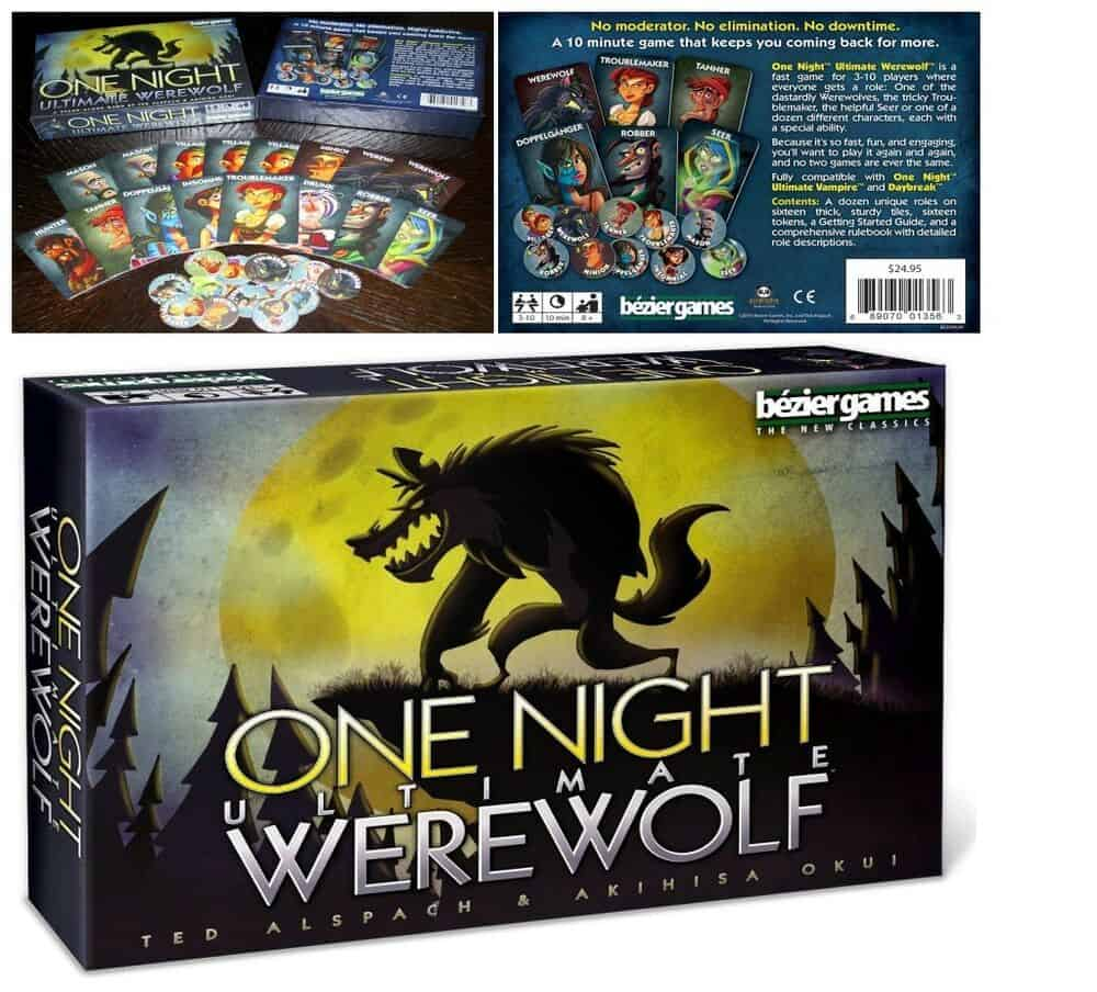 One night ultimate werewolf bordspel