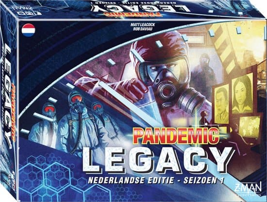Pandemic legacy blue version