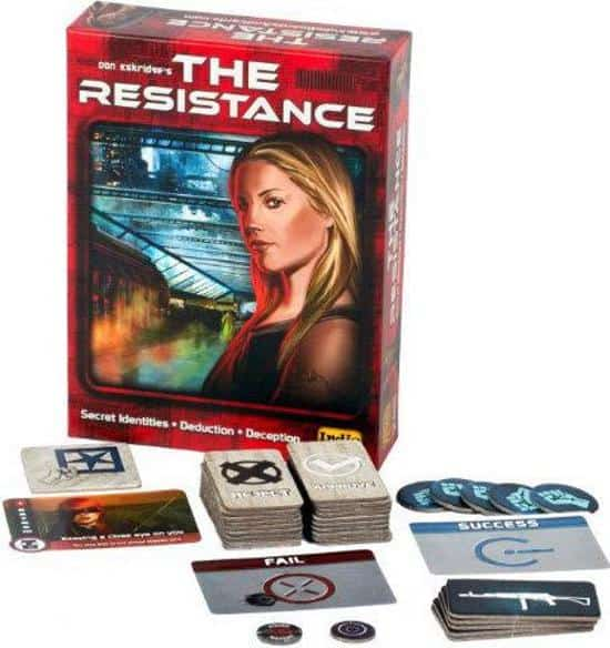 The resistance boardgame