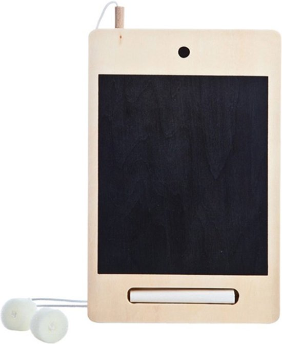 iWood mini krijtbord tablet