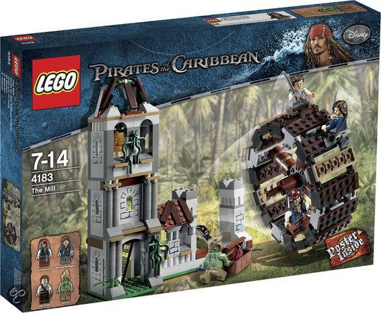 Best LEGO Pirate adventure: Pirates of the Caribbean the Mill 4183
