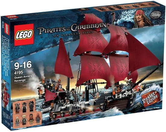 Best LEGO Pirates of the Caribbean ship: The Revenge of Queen Anne 4195