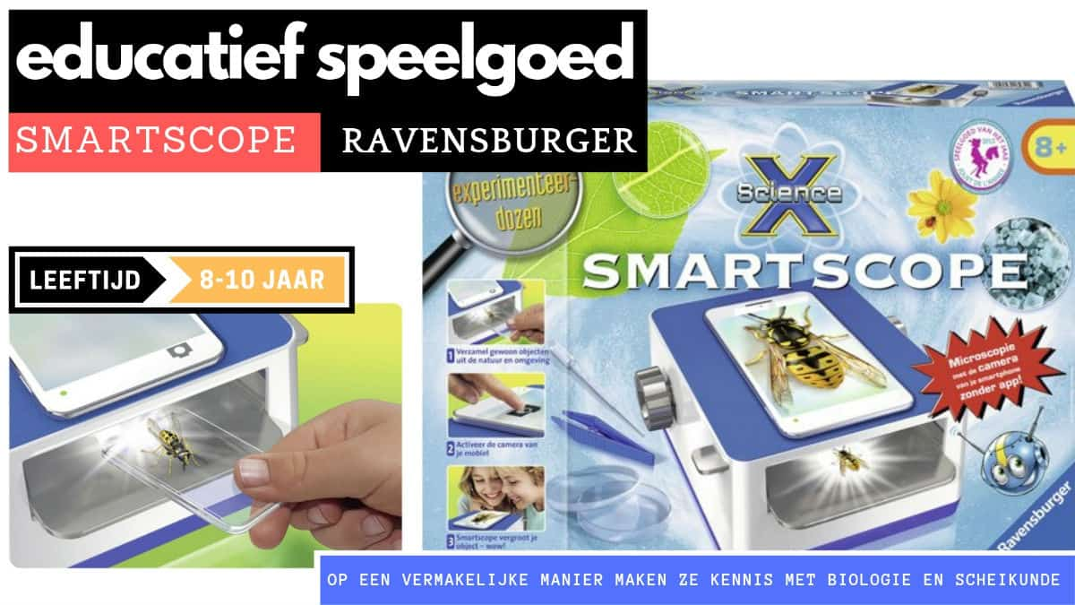Ravensburger educational smartscope from 8 years old