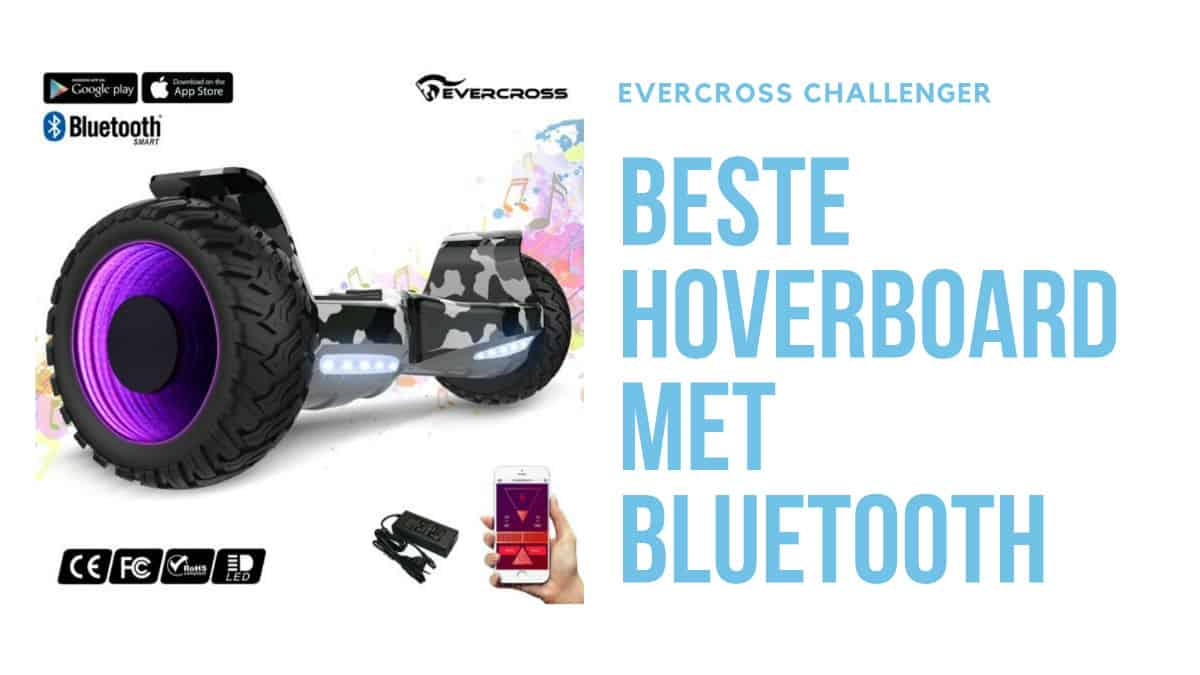 Evercross challenger hoverboard met bluetooth