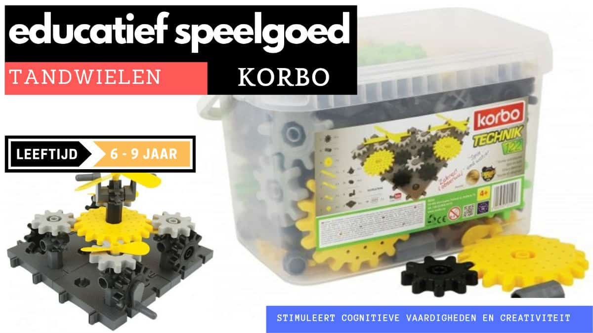 Korbo sprockets educational for 6 years old