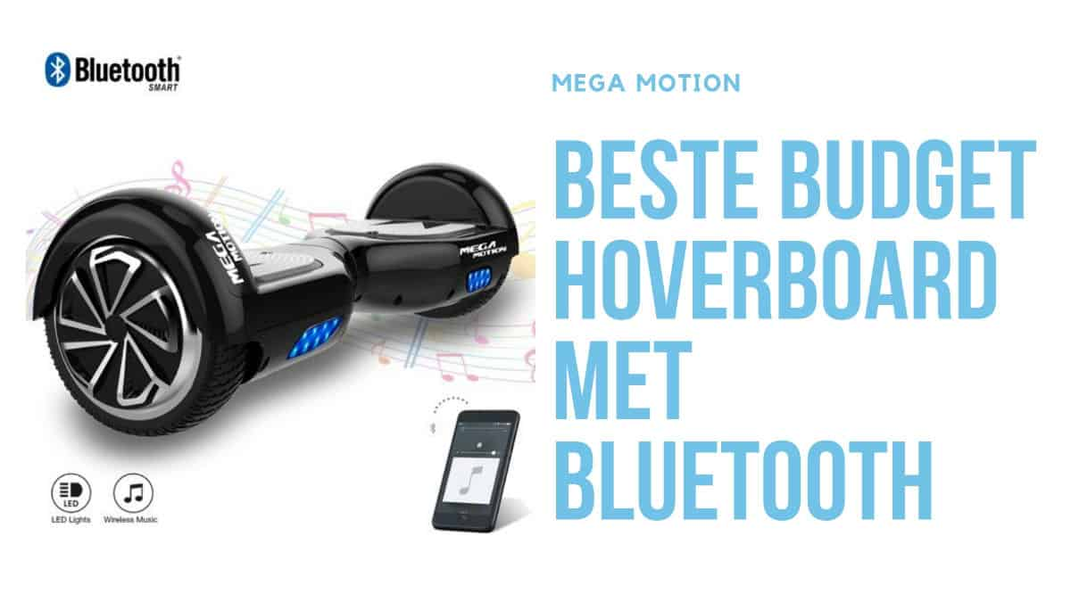 Mega motion budget hoverboard met bluetooth