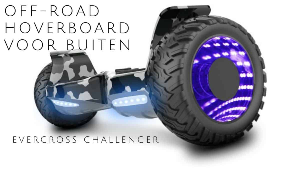 Off-road hoverboard for outdoor Evercross Challenger