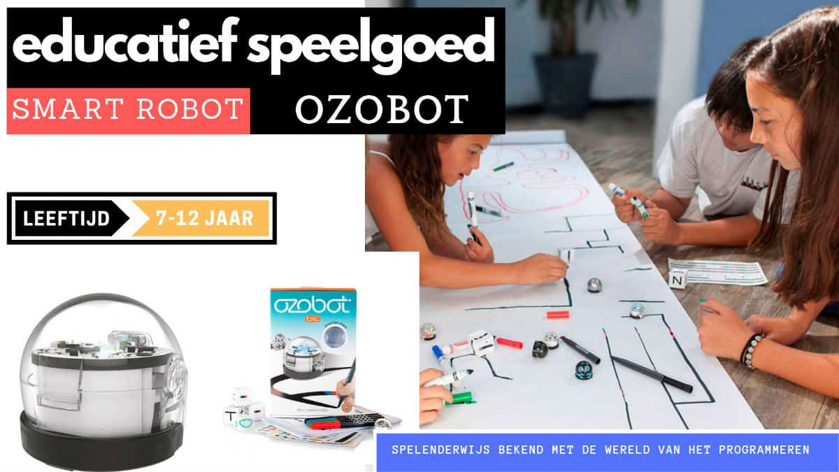 Ozobot educational toy robot for 7 years
