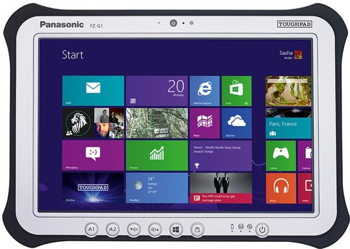 Panasonic touchpad