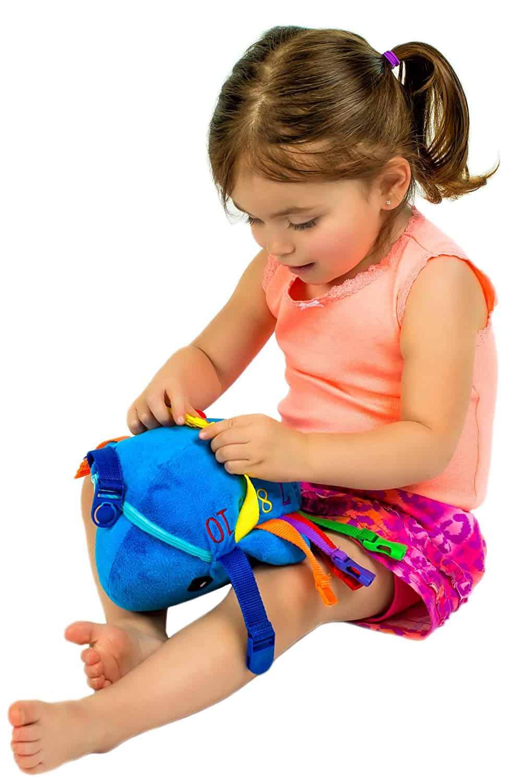 Gesp speelgoed Blu Whale voor vakantie