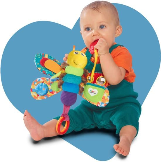 Lamaze freddy the firefly for traveling