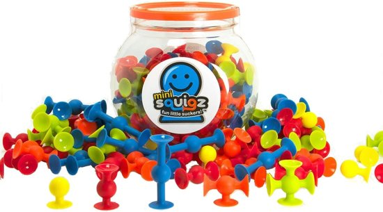 Mini squigz to stick on windows in the holiday home
