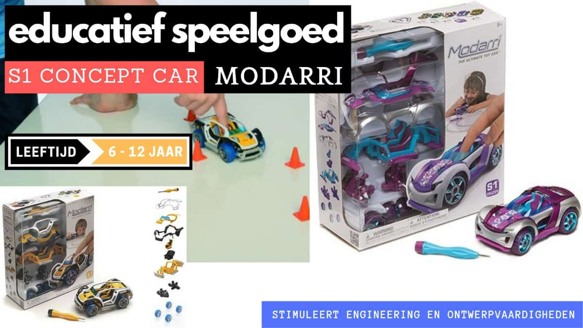 S1 concept car modarri for 6 years old