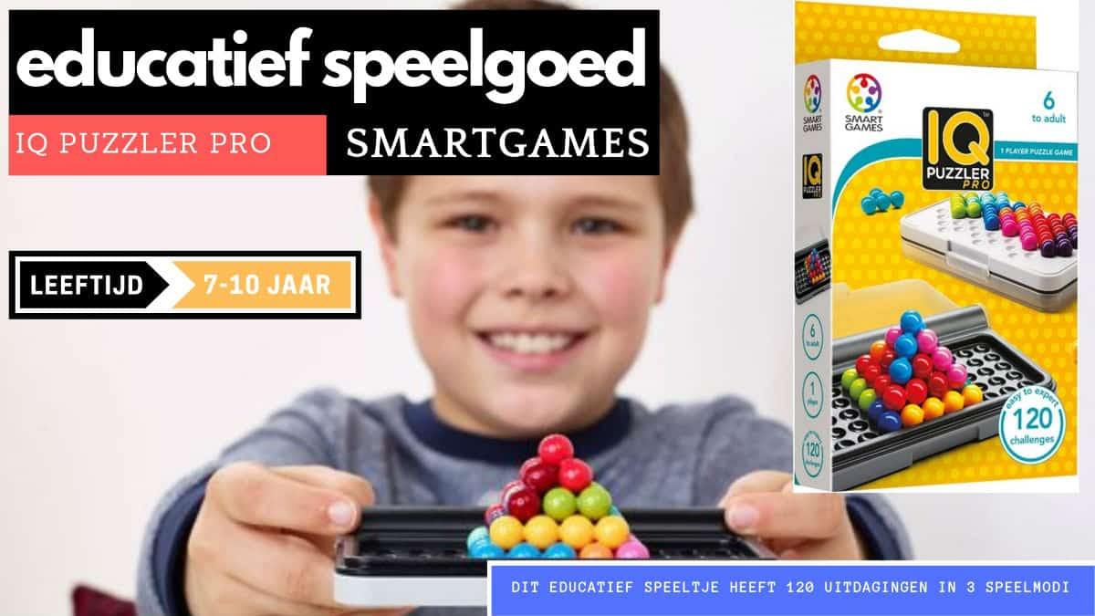Smartgames educational brain teasers for 7 years