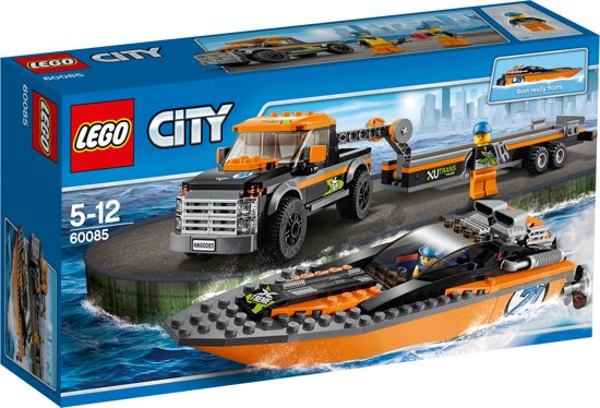 lego city 4x4 speedboot
