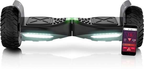 Swheels off-road hoverboard