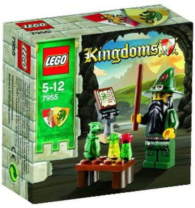 Lego Kingdoms tovenaar set 7955