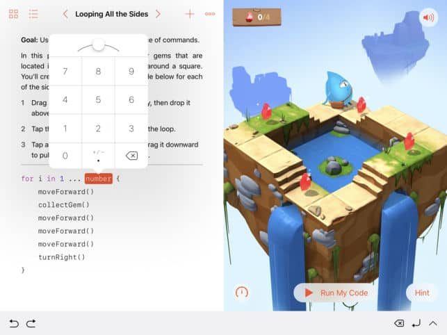 Swift playgrounds on itunes
