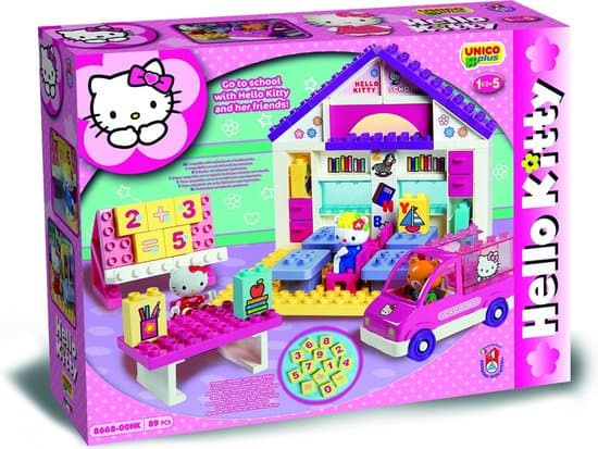 Hello Kitty Duplo bouwset school