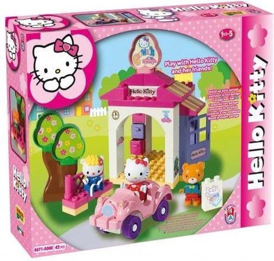 Hello Kitty Duplo wasstraat