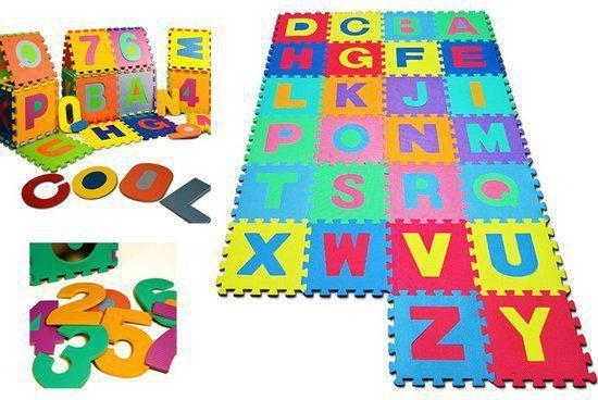 Speelmat 86 delig Puzzelmat speelkleed
