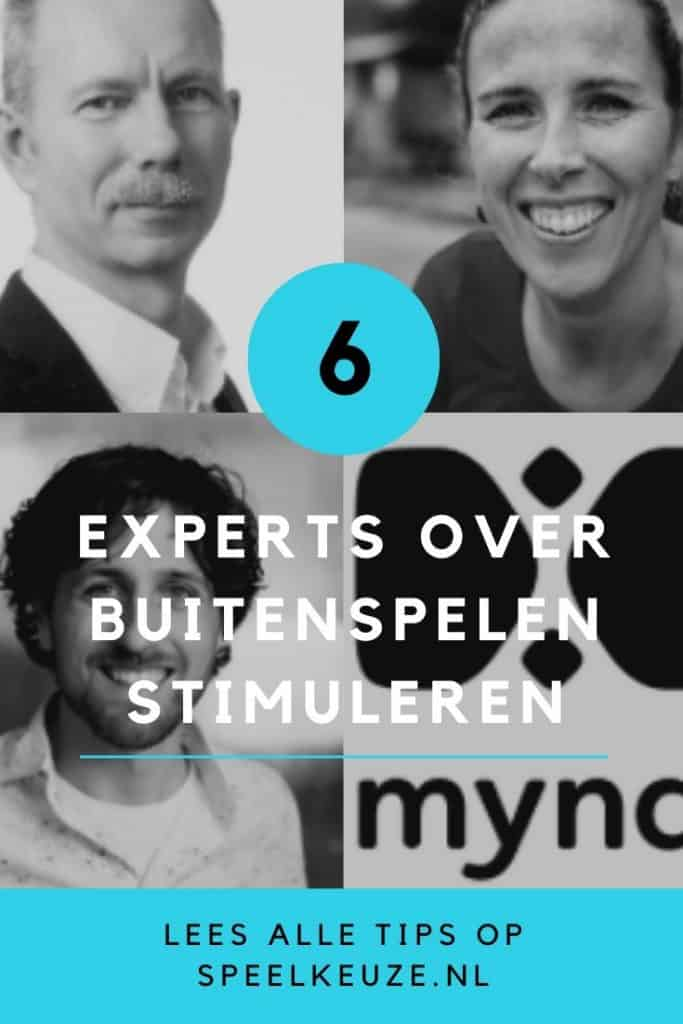 6 experts over buitenspelen stimuleren