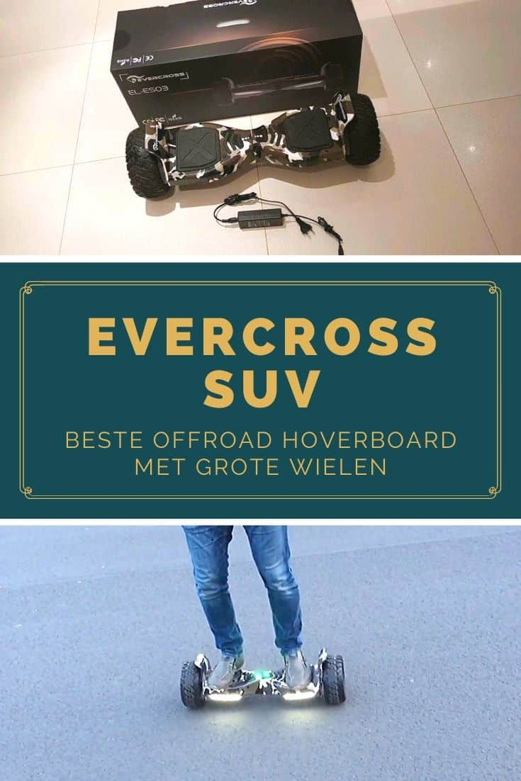Evercross SUV off-road hoverboard with big wheels