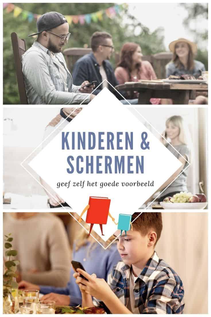 kinderen & schermen en zelf het goede voorbeeld geven