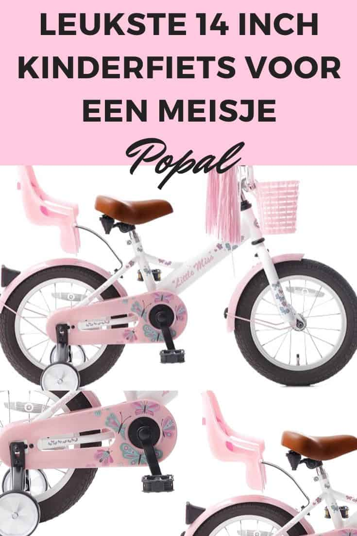14 inch children's bicycle for a girl Popal
