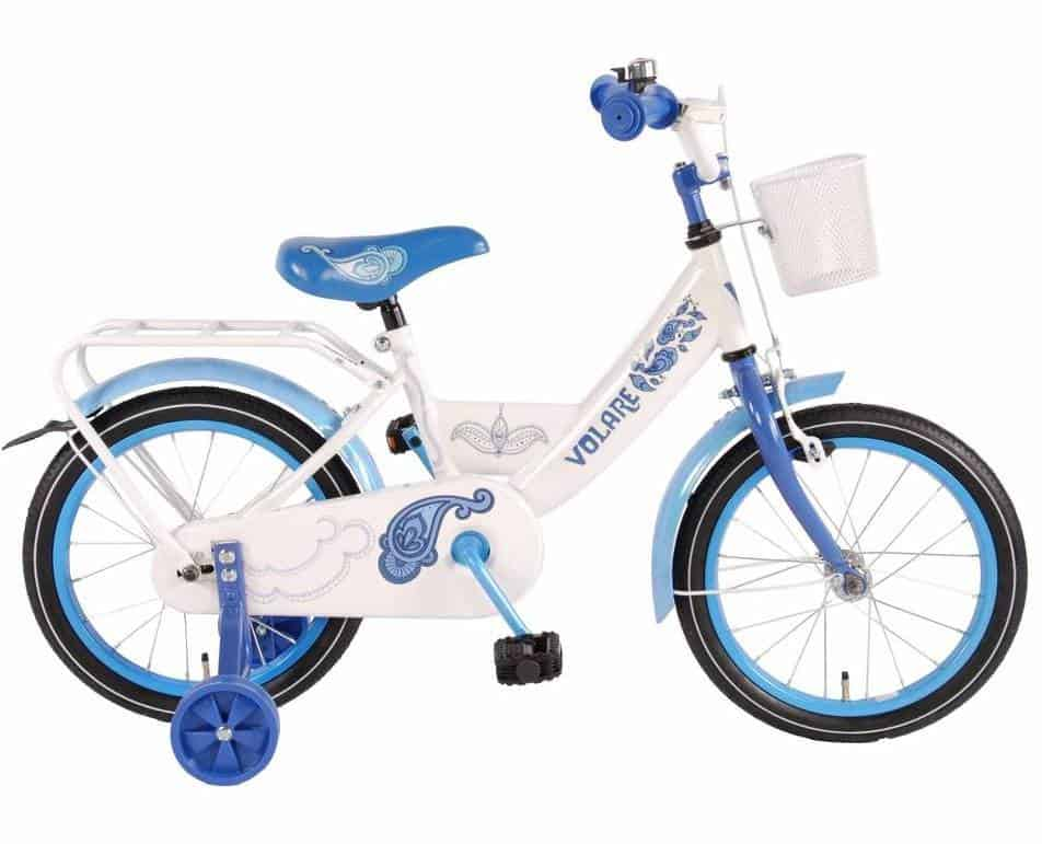 Best children's bicycle with basket Volare Paisley bicycle 16 inch