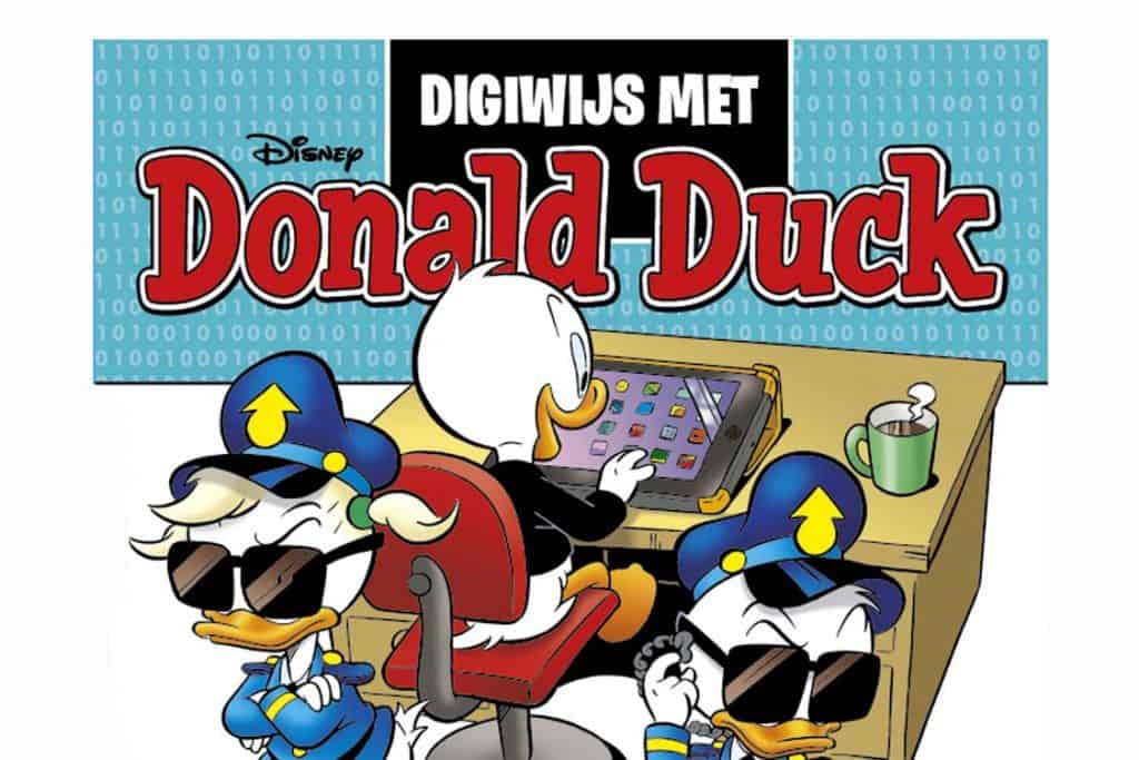 Digitale spelletjes met donald duck