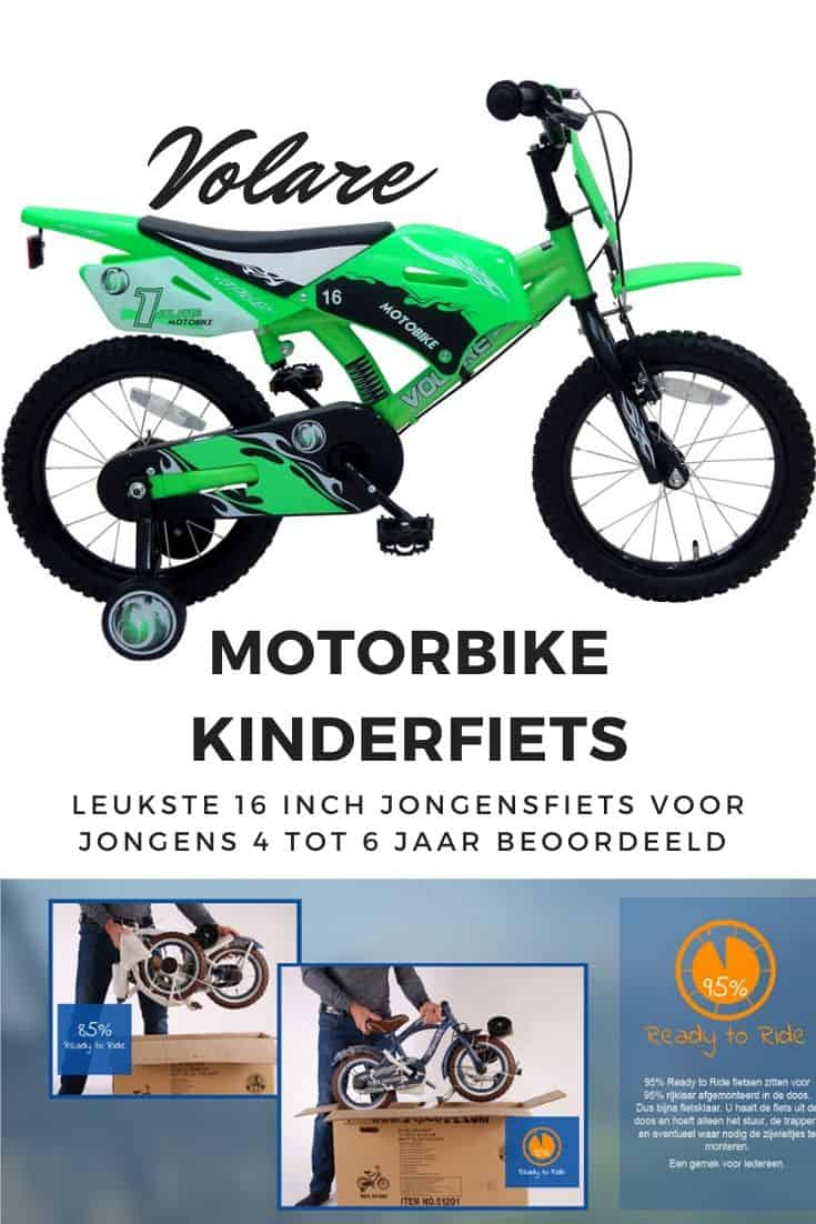 Volare motorbike 16 inch boys bicycle