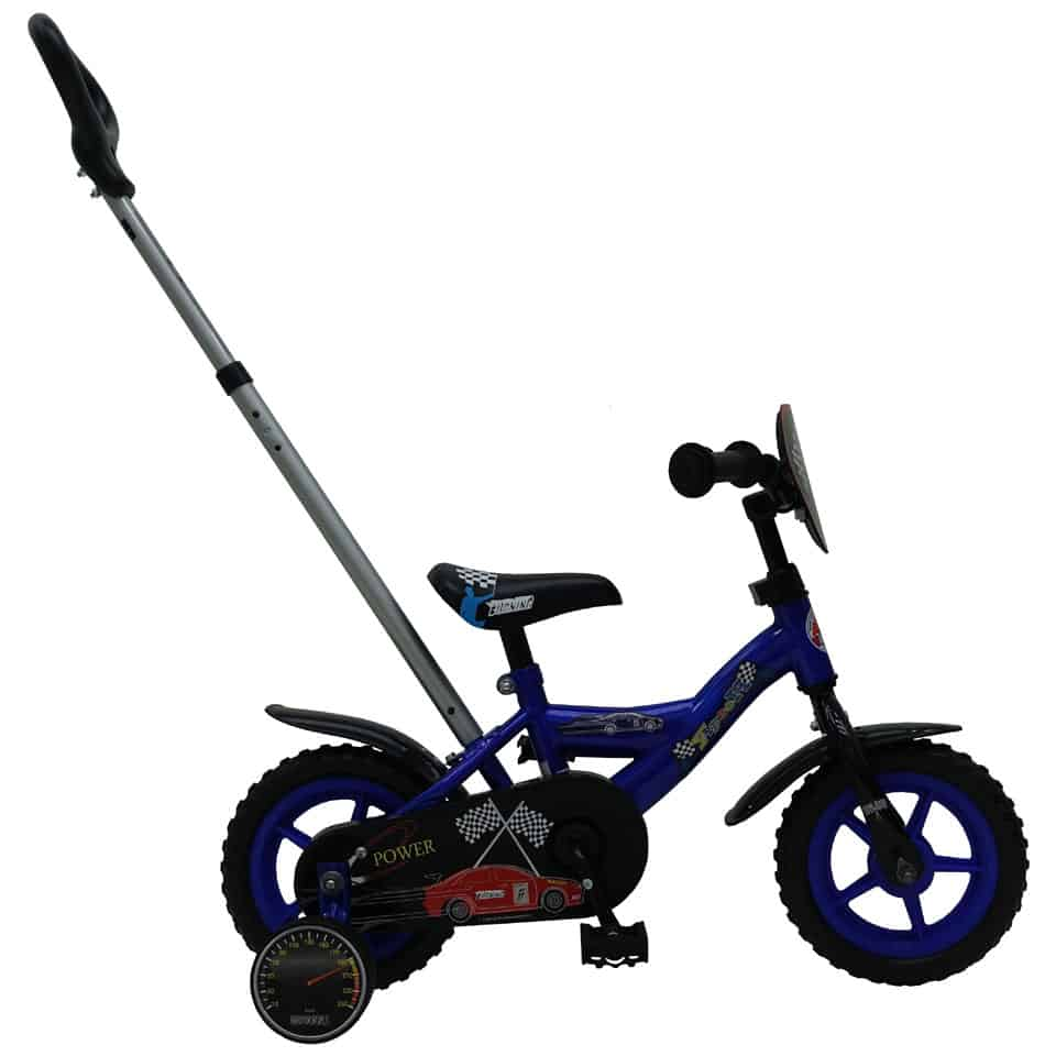 Yipeeh Power bicycle with push bar - 10 inch