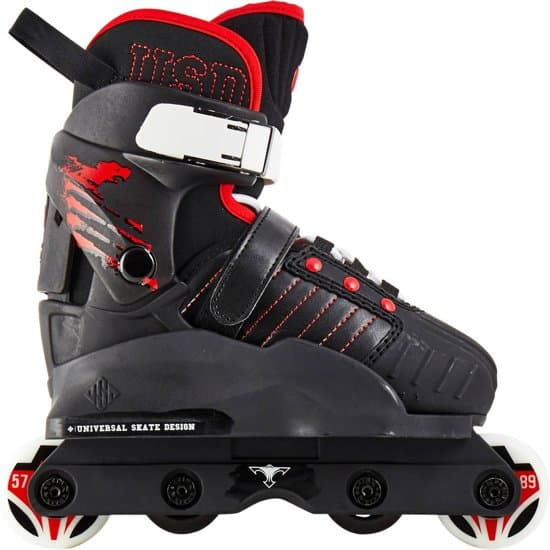 Usd Stuntskates Transformer Junior Zwart Maat