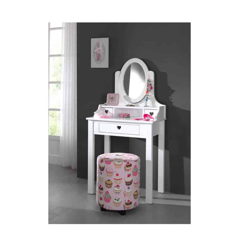 Dressing table with mirror: Vipack