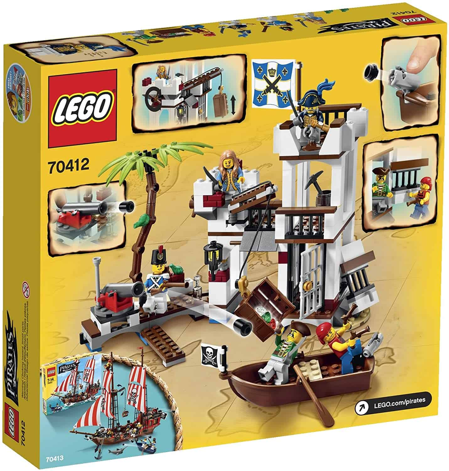 Best LEGO Pirate Fortress: The Soldiers Fort 70412