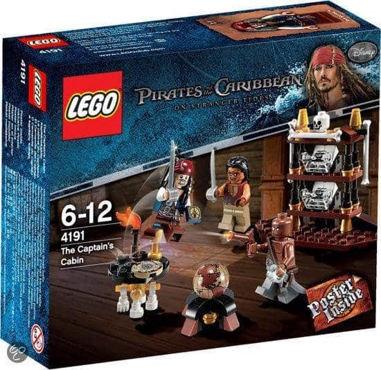 Best LEGO pirate expansion pack: Captain's Hut 4191