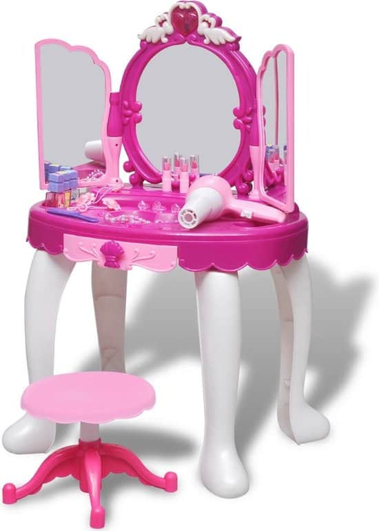 Nicest dressing table with accessories: VidaXL with light and sound