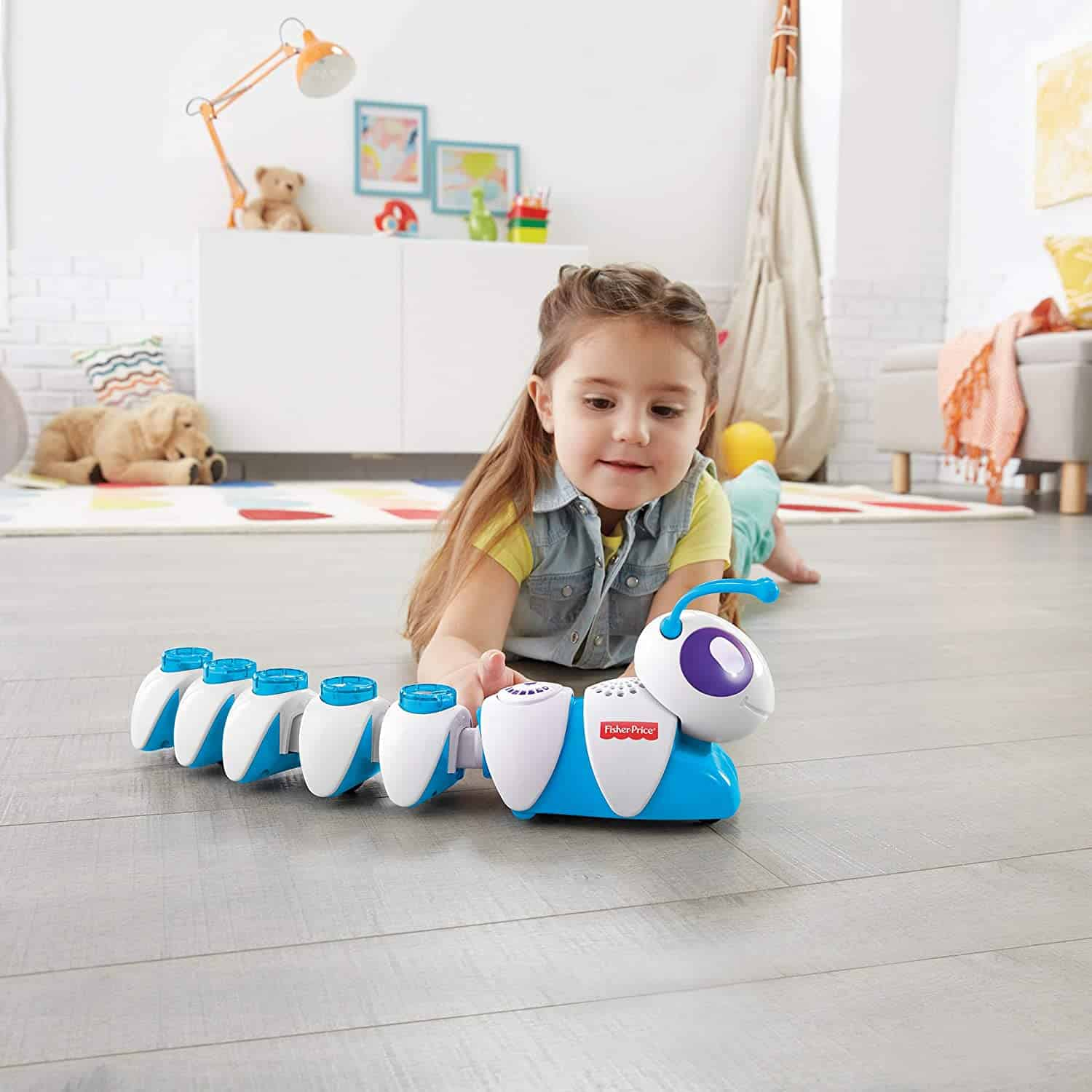 Fisher Price Code-a-pillar: Co-de-rups