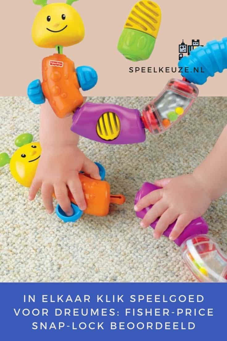 Fisher price snap-lock rated